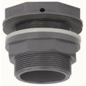 Passe paroi pvc pression 25 mm VDL