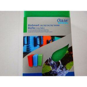 Mousse VERTE (remplacement) Biosmart 18-36 et Biotec 5.1 en 10.1