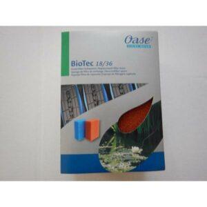 Mousse rouge de remplacement pour Biotec 18 36 60000 140000