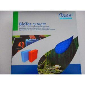 Mousse BLEU de remplacement pour Oase Biotec 5 10 30