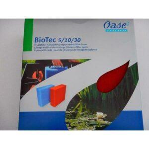 Mousse ROUGE de remplacement pour Oase Biotec 5 10 30