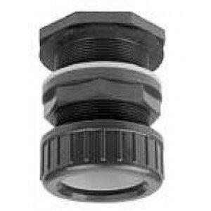 Passe paroi pvc pressioin 20mm avec collier de serrage VDL