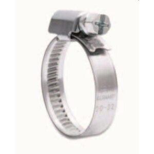 Collier de cerrage inox 95 mm large diam 28/41 mm