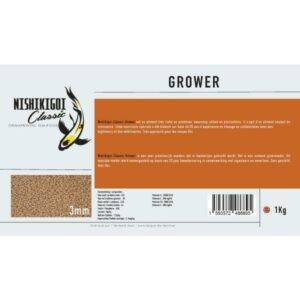 Nishikigoi classic grower 3 mm 1 kg aliment pour carpe koi