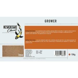 Nishikigoi classic grower 3 mm 15 kg aliment pour carpe koi