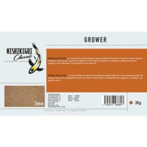 Nishikigoi classic grower 3 mm 3 kg aliment pour carpe koi