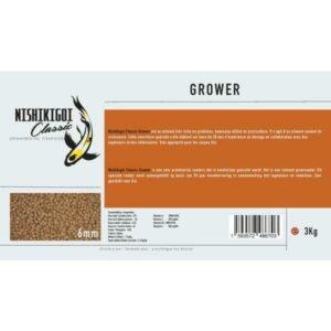 Nishikigoi classic grower 6 mm 3 kg aliment pour carpe koi