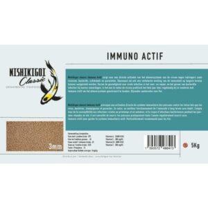 Nishikigoi Classic Immuno Actif 3 mm 5 kg