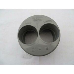 réduction pvc double  (50+50/110 mm)