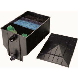 Filtre 3 chambres (Pompage) 330L + 40w uvc + avec substances filtrantes