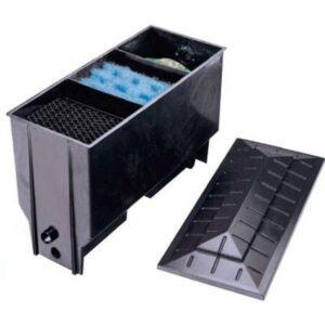 Filtre 3 chambres (Pompage)  220L avec substances filtrantes