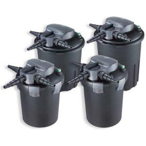 Aquaforte Filtre pression BF-12000 avec stérilisateur uvc 18w incorporé